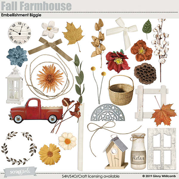Fall Farmhouse embellishments