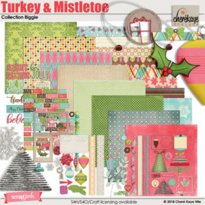 Turkey & Mistletoe