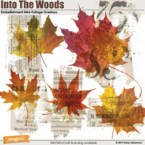 Into the Woods Foliage Overlays
