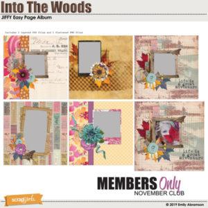 Into the woods bonus jiffy album