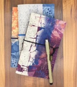 Printable pamphlet journals