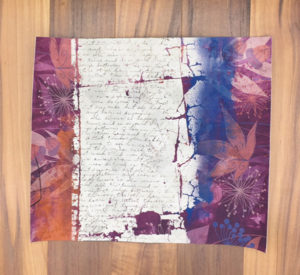 Printable pamphlet journal cut