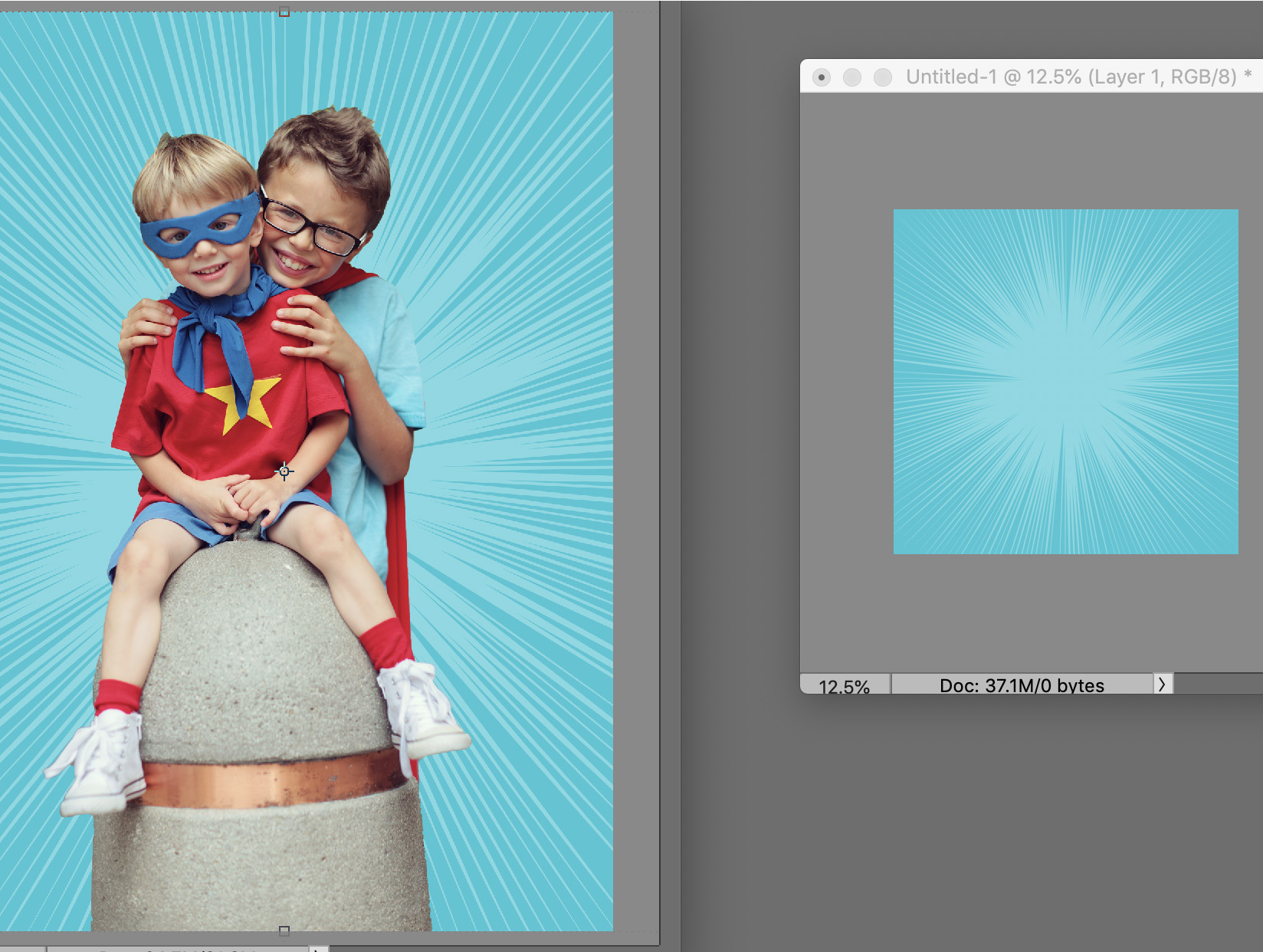 Selections in Photoshop Elements