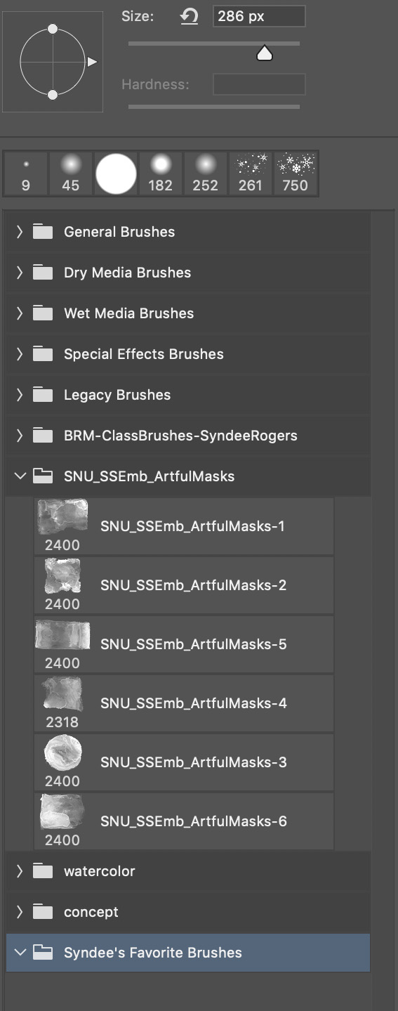 Folders in PS Brush Picker