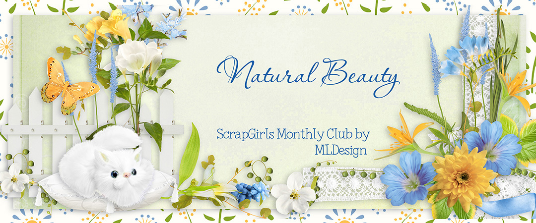 Scrap Girls Club Exclusive: Natural Beauty