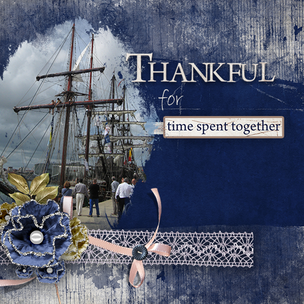 Layout using Gratitude Collection