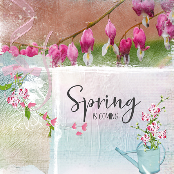 Spring layout using Traces of Spring