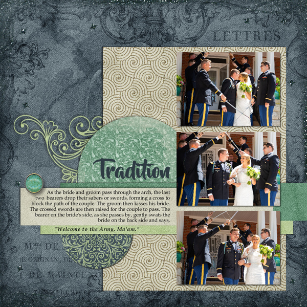 layout by Celestine using DayDream Collection