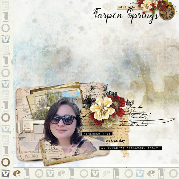 Layout using Vintage Spring