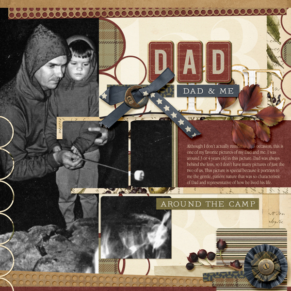 Layout with Outdoor Dad