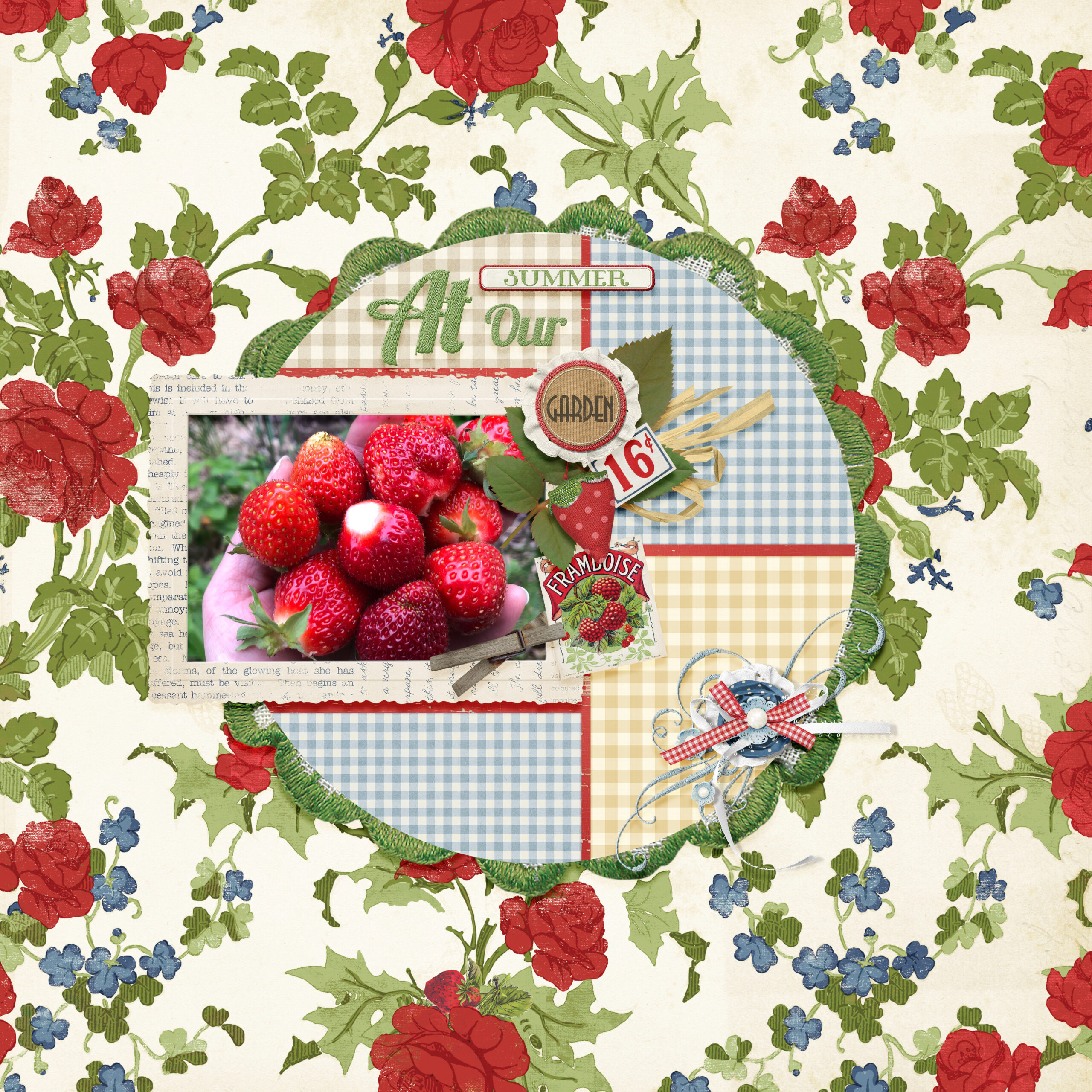 layout using Value Pack: SUmmer Cottage
