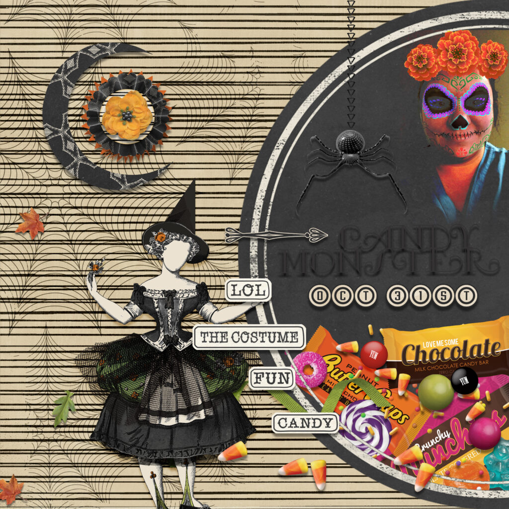 layout using Value Pack: Bewitched 2