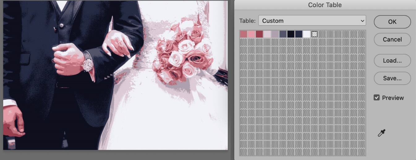 creating a color palette in photoshop