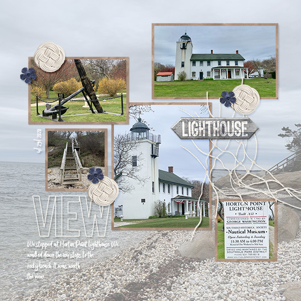 lighthouse layout using Anchors Collection