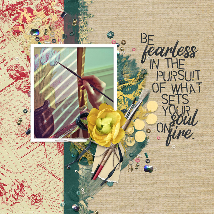 layout by Carmel using Art In Life collection