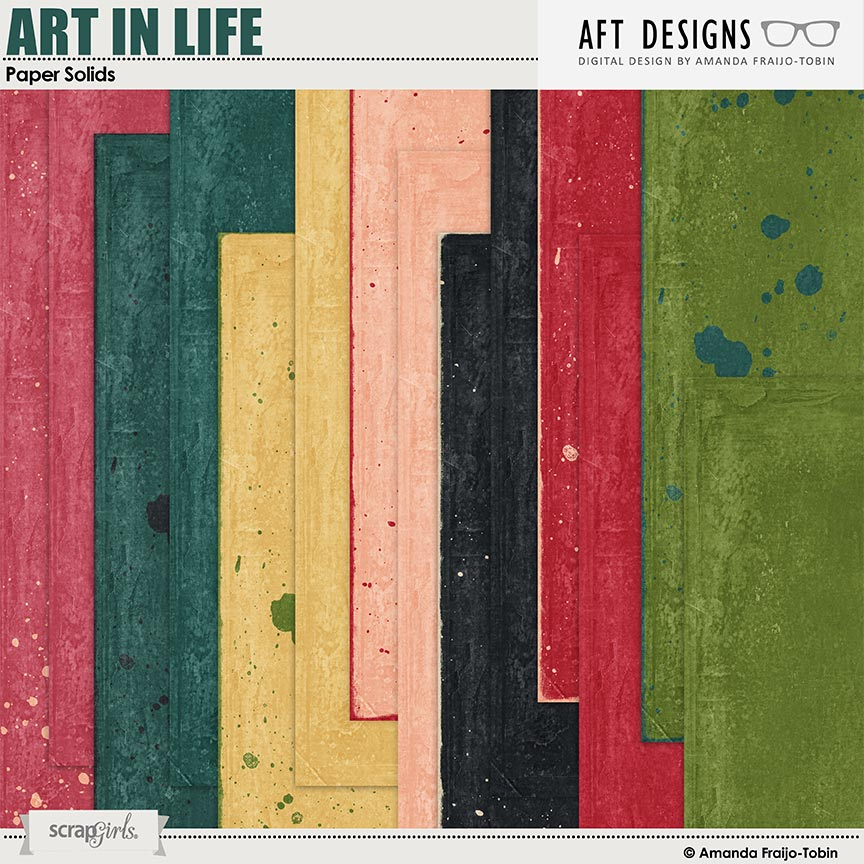 Art In Life Paper Solid