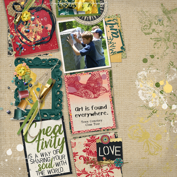 layout from Celestine using Art In Life collection