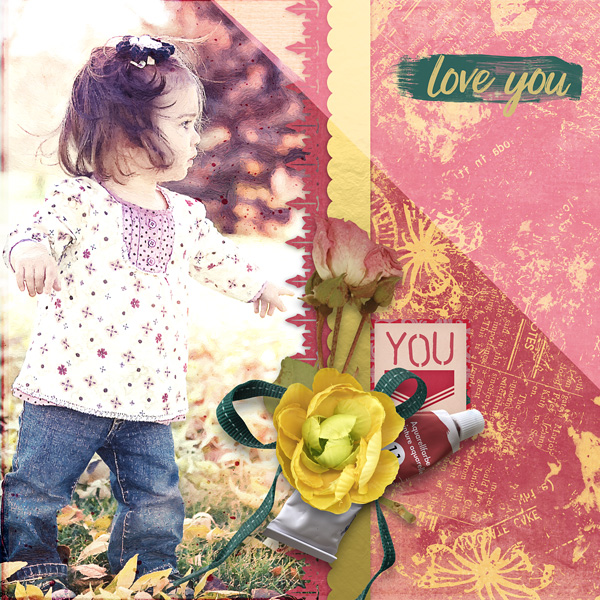 layout from Carmel using Art In Life Collection