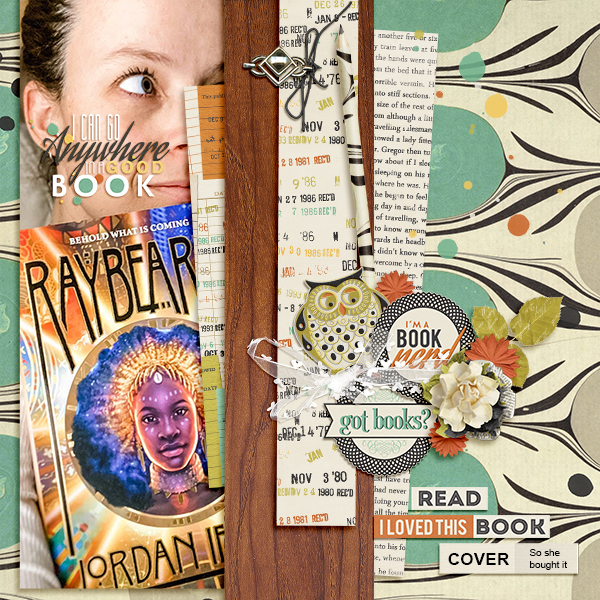 layout by Andrea using Book Club Collection Biggie
