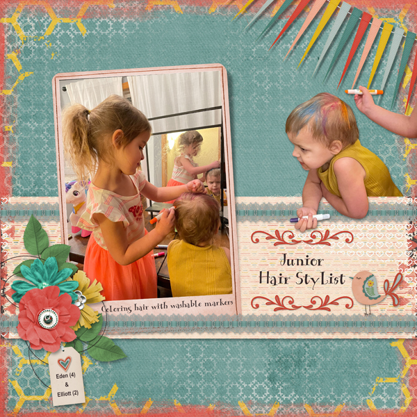 layout using Favorite Things by Sue