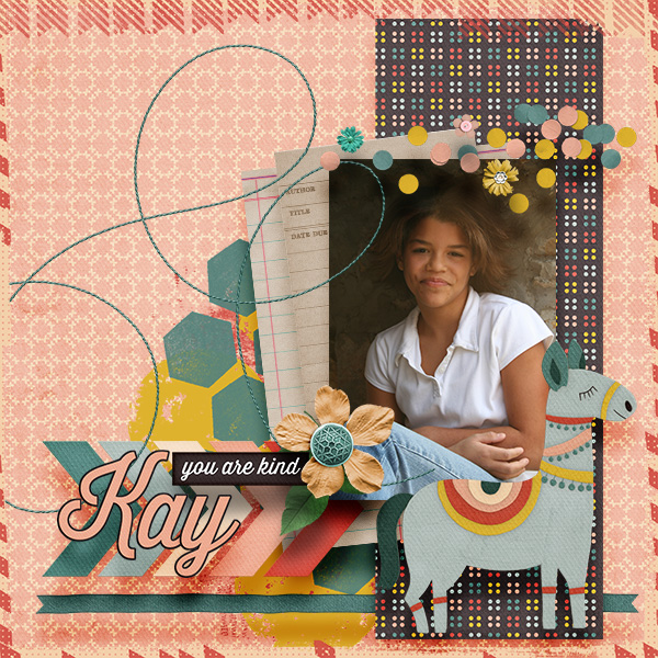 layout using Favorite Things by Laura
