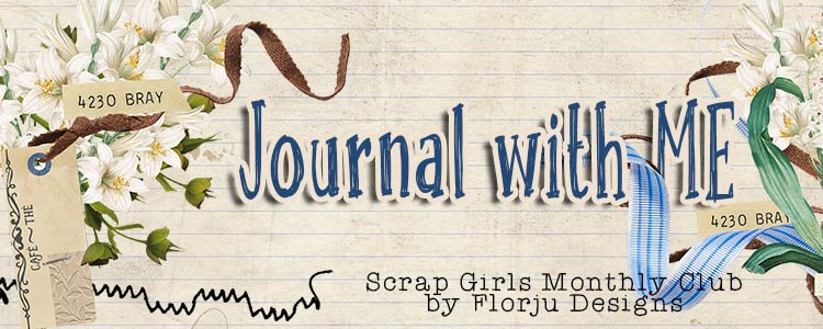 Scrap Girls Club Exclusive: Journal With Me