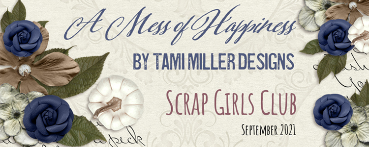 Scrap Girls Club Exclusive: A Mess Of Happiness